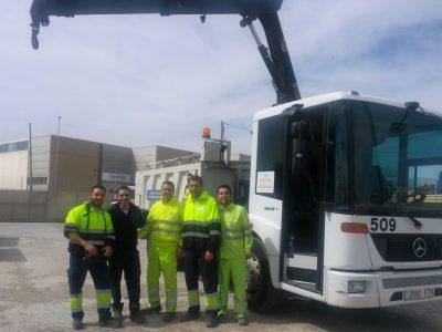 Curso de operador de grúa hidráulica articulada en Valencia