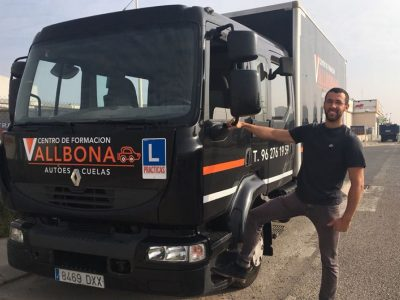 curso CAP inicial mercancias en Valencia
