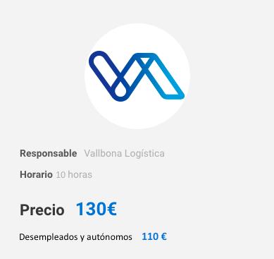 precio curso carretillas elevadoras en Valencia